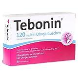 TEBONIN 120 mg bei Ohrgeräuschen Filmtabletten 60 St Filmtabletten