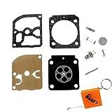 HURI Vergaser Reparatursatz Membrane Kit Membransatz für Stihl MS171, MS181, MS181C, MS211, MS211C, BG45, BG46, BG55