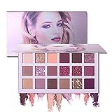 18 Farben Lidschatten Makeup Palette Schönheit TY Matte Schimmern Pigmentierte Twilight Und Dusk Lidschatten Pulver