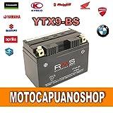 Batterie YTX9Malaguti Malaguti Centro 125ie 2007200820092010RMS