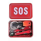 Cido Notfallset/Erste-Hilfe-Set /SOS Survival kit mit vielen kits für Notfall, Outdoor-Aktivitäten und Verwendung der Familien