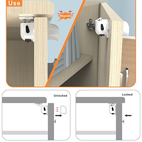 b b magn tiques placard serrures s curit verrouillage verrouiller porte armoire tiroir. Black Bedroom Furniture Sets. Home Design Ideas