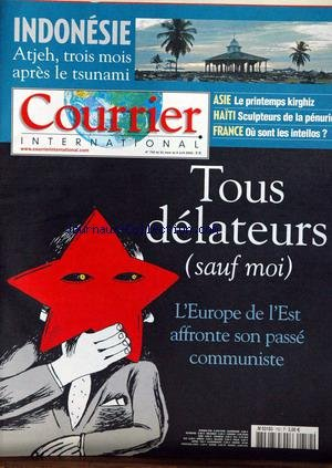 COURRIER INTERNATIONAL [No 752] du 06/04/2005