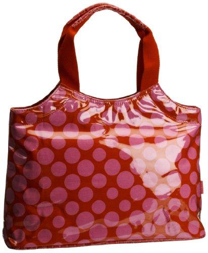 Lulu Australia  Polka Dot Typical French Bag, Damen Henkeltasche (Dot Polka Handtasche Tote)