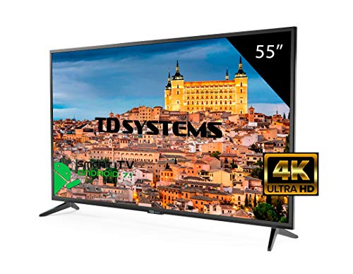 Televisor Led 55 Pulgadas Ultra HD 4K Smart TD Systems K55DLG8US. Resolución 3840 x 2160, HDR10, 3X HDMI, VGA, 2X USB, Smart TV.