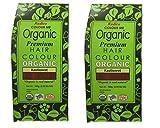 Radico Kastanienrot 2er-Pack (Auburn Red) Colour Me Organic Pflanzenhaarfarbe (bio, vegan, Naturkosmetik) kastanienrotx2