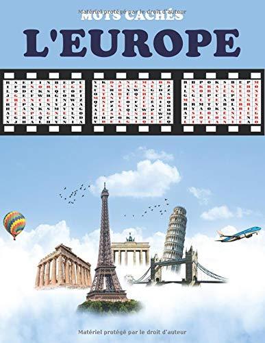 MOTS CACHÉS - L'EUROPE: Apprendre dans une forme de jeu