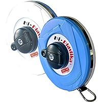 Freemans Measures Microfiber Hi-Plastika 50 M Measuring Tape (Multicolour)