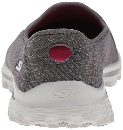 Skechers - GO Walk 2 Super Sock, scarpe da donna Charcoal