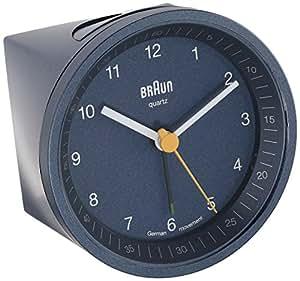 Braun - BNC007BLBLQ - Réveil Analogique - Eclairage
