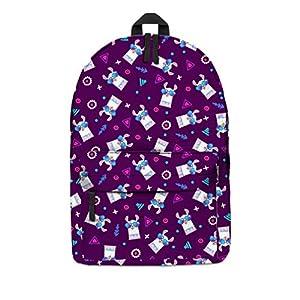 51Gl6mRDkoL. SS300  - Kfnire Mochilas Tipo Casual Mochila Infantil Backpack Mochilas Escolares Fashion Mochilas de Marcha para Chicas, 3D impresión Unicornio (Alpaca #01)