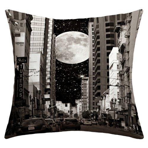 DENY Designs Shannon Clark Love Under The Stars Überwurfkissen 18 by 18-Inch Night on The Town Lg Star