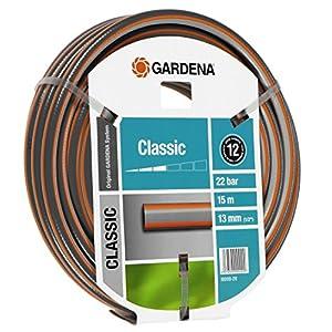 Gardena Classic – Manguera de jardín, 1/2″, 15m, colores surtidos