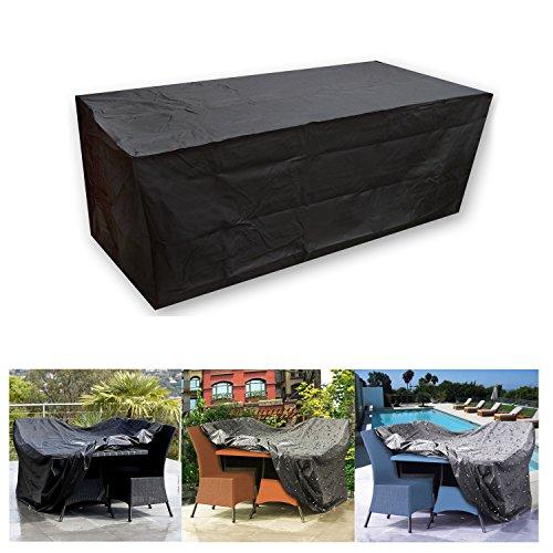 Vinteky® Outdoor Abdeckung Gartenmöbel Schutzhülle (L 210 * 140 * 80cm)