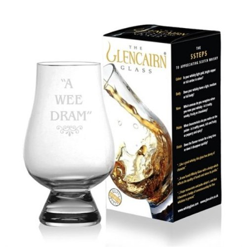 Offizielles Glencairn Kristall Whisky Tasting Glas-A Wee Dram 12468 One
