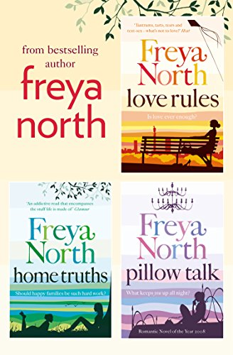 Freya north 3 book collection love rules home truths pillow freya north 3 book collection love rules home truths pillow talk by fandeluxe Gallery