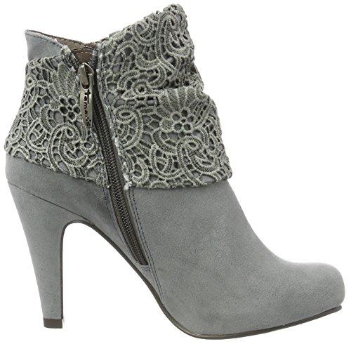 Tamaris 25324, Bottes Classiques Femme Gris (Grey 200)