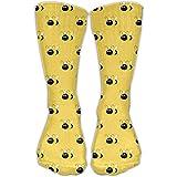 uyruyeue Bhuis Bumblebee Women & Men Socks Knee High Long Soccer Sport Tube Stockings Length 30cm