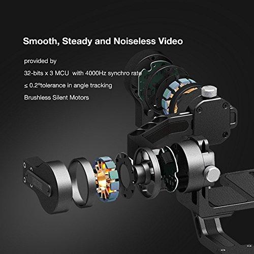 Zhiyun Crane 3-Axis Handheld Gimbal Stabilizer for Mirrorless and DSLR Camera