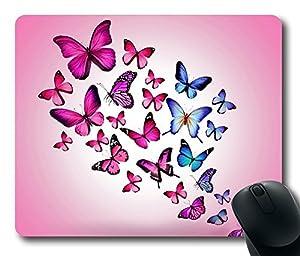 Butterflies Mouse Pad Desktop Laptop Mousepads Comfortable