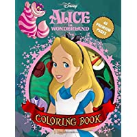 Alice in Wonderland Coloring Book: 40 Awesome Illustrations for Kids