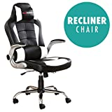 Genuine GT Force reclining chair for office or gaming  This genuine GT force chair offers hours of comfort for gaming or working. Boasting outstanding lumbar protection from the extra padding at the base of the backrest, this sporty chair also has a ...
