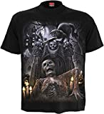 Spiral - Men - LIVING DEAD - T-Shirt Black