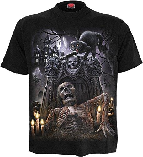Spiral -  T-shirt - Uomo Black Medium