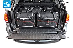 KJUST Dedizierte Kofferraumtaschen 5 STK kompatibel mit BMW X5 F15 2013-2018
