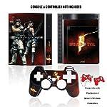 PS3 Resident Evil 5 Skin + Con...