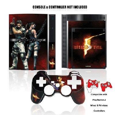 Saitek RESIDENT EVIL 5 Controller und Konsolen Skin für PS3 (Resident Evil Controller)