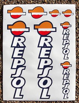 REPSOL Motorrad Gabel Aufkleber Sticker