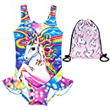 aca27baf3 EuHigh Bañador para Niña Unicornio Traje de Baño Una Pieza Bikini Libre  Regalo