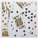 3drose verstreut Karten Foto–Kartenspiel Spieler Poker Brücke Spiele Casino Las Vegas–Grußkarten, 15,2x 15,2cm, Set 6(GC 112896_ 1)