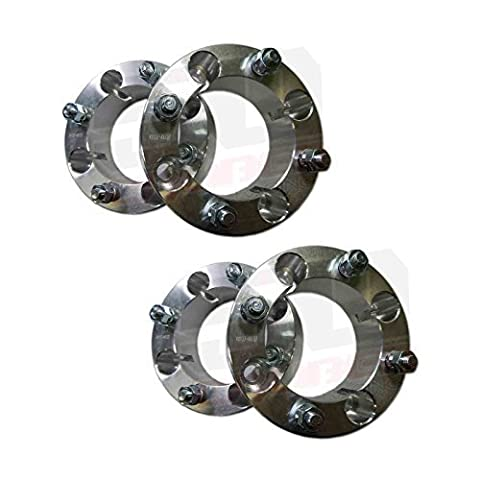 Set of Four (4) Wheel Spacers - 4x137 - 2 inch thick - 12x1.25mm Studs - Fit Kawasaki Teryx , Teryx4 [5217-A1] by 50 Caliber