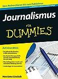 Journalismus für Dummies - Henriette Löwisch