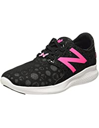 New Balance Boy's Coast Black/White Sneakers -3.5 UK/India(36 EU)(4 US)(KACSTM2Y)