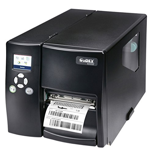 Thermodrucker Thermodirektdrucker Etikettendrucker Godex EZ2250i 203 dpi Modell mit Abreißkante mittig geführt LAN