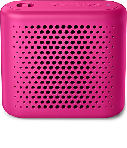 Philips BT55P - Mini Altavoz Bluetooth inalámbrico portatil, Compatible con Smartphones, iPhone,...