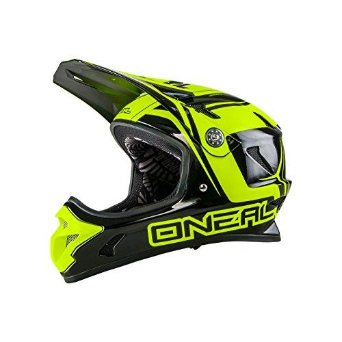 O 'Neal Spark Fidlock DH Fahrrad Helm, Unisex, Unisex, Spark Fidlock Dh, Neongelb
