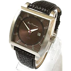 Ben Sherman Classic Black Dial Leather Strap Watch R859