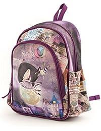 Anekke Schulrucksack/Backpack mit 2 Reißverschlussfächern Balerina Mochila Tipo Casual, 35 cm,…