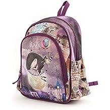 Anekke Schulrucksack/Backpack mit 2 Reißverschlussfächern Balerina Mochila Tipo Casual, 35 cm, 12