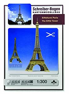 Maquette en carton : Tour Eiffel, Paris
