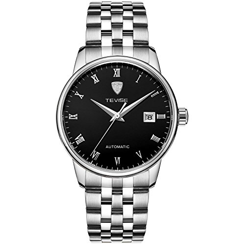 SHOUBIAO® Uhr Automatische Mechanische Uhren Steel Uhren Herren Wasserdichte Hohlen Kalender , 2