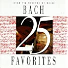 25 Bach Favorites by J.S. Bach (1996-08-20)
