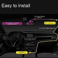 360 Degree Smart Car DVR Driving Recorder Mini 1080P HD Car Camera Camcorder Night Vision Dashcam WiFi Car Monitor
