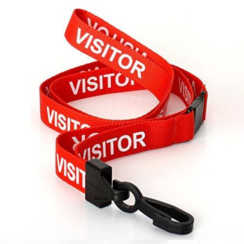 ckb-ltdr-10x-red-rouge-visitor-lanyards-breakaway-safety-lanyard-cordon-tour-de-cou-pour-porte-badge