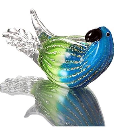 ULLK Creative Home Handmade Dekoration Parrot Art Fashion Glasur Tiere Zuhause