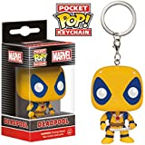 Funko - Porte Clé Marvel - Deadpool Yellow Pocket Pop 4cm - 0849803075118